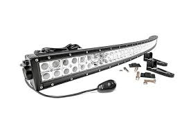 30 led light bar combo country 50in curved mount and dual row light bar combo 93 98 jeep zj