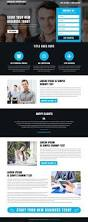 responsive landing page template work from home responsive