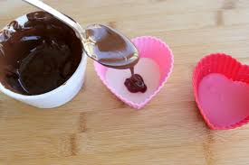 chocolate heart candy sweet hearts with chocolate money