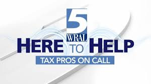 tax pros on call monday at wral wral com