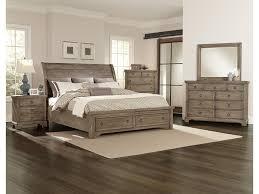 Oak Veneer Bedroom Furniture by Vaughan Bassett Whiskey Barrel Distressed Finish Chesser 9