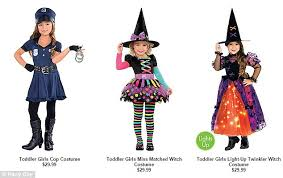 Halloween Costumes For Kids Girls Lin Kramer Voices Outrage Over Online Retailer U0027s U0027sexualized
