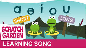 the vowel song long and short vowel sounds learning english for