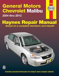 chevrolet malibu 04 12 haynes repair manual haynes manuals