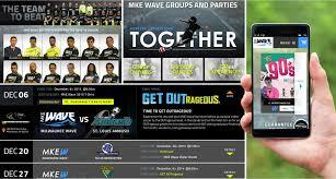 waukesha city halloween milwaukee wave u0027s web developer professional soccer team website