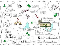 map ideas maps wedding stationery save the dates