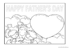 free printable happy fathers coloring pages kindergarten