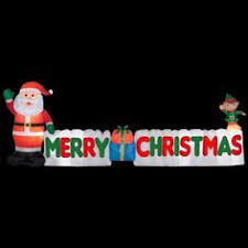 merry lighted nostalgic metal marquee sign