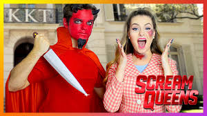 day of the dead costumes spirit halloween scream queens diy halloween costumes dead sorority u0026 red