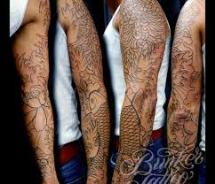 sleeve tattoos for black men cool tattoos bonbaden