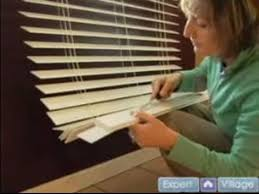 How To Cut A Blind To Size How To Install Faux Wooden Blinds Adjusting The Length Of Your