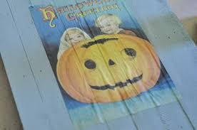 diy halloween signs vintage inspired tutorial darice