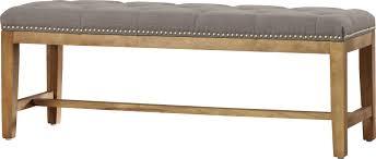 Contemporary Upholstered Bench Bench Upholstered Peugen Net