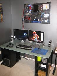 Gaming Setup Maker Wall Mounted Computer Http Www Reddit Com R Pics Comments E5ka7
