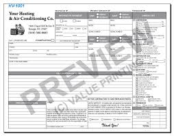 Maintenance Work Order Template Excel Free Design Fast Shipping On Hvac Forms Hvac Invoices Work