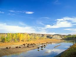 North Dakota scenery images The scenic theodore roosevelt national park in north dakota the jpg