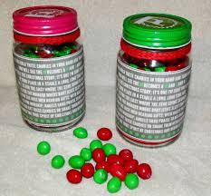 heck of a bunch m u0026ms mason jar craft with poem