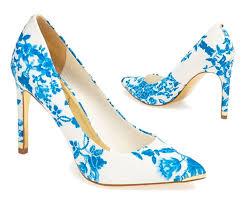 Blue Patterned Shoes | patternedweddingshoes 4 jpg