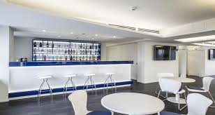 siege social pernod ricard cafeteria into the premises of pernod ricard in milan italy