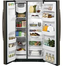 ge 25 3 cu ft side by side refrigerator gss25gmhes ge