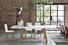 tavoli sala da pranzo allungabili tavolo allungabile in metallo piano in vetro temperato per sale