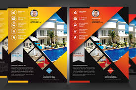 Real Estate For Sale Flyer Template by Real Estate New Listing Flyer V1 Flyer Templates Creative Market