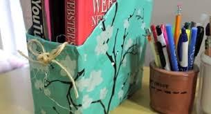 cara membuat lemari buku dari kardus bekas ide membuat rak majalah atau buku dari karton bekas yang unik