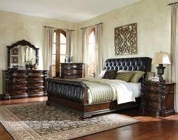 Bedroom Set Design Furniture Standard Furniture Churchill Sleigh Customizable Bedroom Set