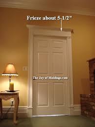 Interior Door Trim Kits 5 Overdoor Door Trim Frieze The Of Moldings