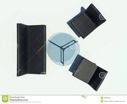 Simple Black Sofa Set Black Sofa Set Stock Photo Image 18908940