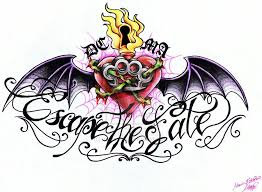 clipart library more like escape the fate tattoo design by maga
