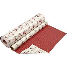 reversible christmas wrapping paper gift wrap craft and gift shop