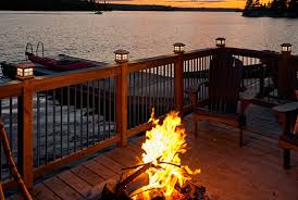 solar powered deck post lights why solar lights are a great addition to your deck discount plus inc