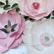 Pink Peonies Nursery Paper Flowers Photo Shoot Props Pink Paper Flower Backdrop Baby