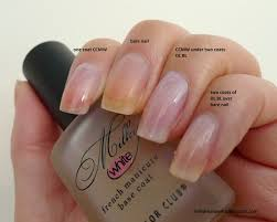 i relish nail polish color club milky white base coat