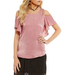 Blush Colored Blouse Juniors U0027 Shirts U0026 Blouses Dillards