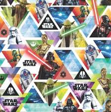 wars wrapping paper wrapping paper folded wars colourful characters heroes