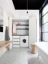 laundry in bathroom ideas bathroom laundry combination ideas photos