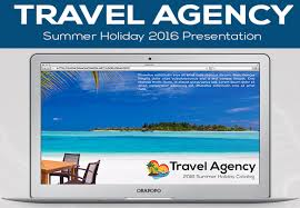 10 beautiful tourist booklet templates for travel agencies