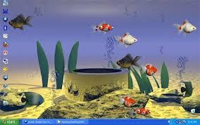 wallpaper ikan bergerak untuk pc desktop aquarium syahidacomputer