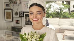 wedding dress miranda kerr miranda kerr s wedding dress an exclusive look at custom