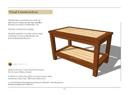 simple wood coffee table plans plans free download zany85pel