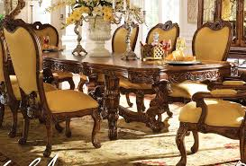 Cream Leather Dining Room Chairs Dining Table Minimalist Image Of Dining Room Decoration Using