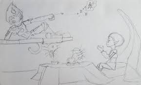 sketches on codelyokofr deviantart