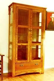 curio cabinet with light curio cabinet with lighting curio cabinet with light brown color