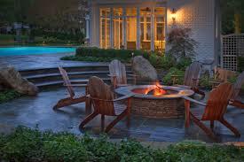 fire pit ideas backyard backyard fire features create a warm