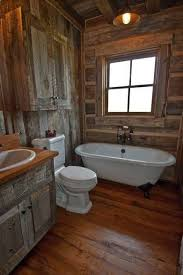 barn bathroom ideas this rustic cabin bathroom make mine rustic
