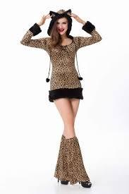 Halloween Cheetah Costumes V17 Animal Cat Bunny Costumes Women
