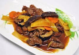 cuisine asiatique boeuf boeuf aux chignons et bambou picture of wok cuisine asiatique