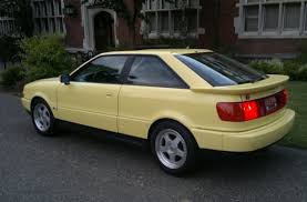 1990 audi quattro coupe 1990 audi coupe quattro for sale yellow inspiration cars